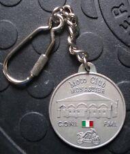 MOTO CLUB MONASTIER 26. Motoraduno 2001 SCHLÜSSELANHÄNGER Plakette Medaille gut2