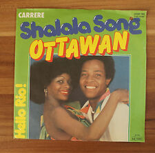 "Single 7"" Vinyl Ottawan - Shalala Song Hello Rio! Carrere 1980"