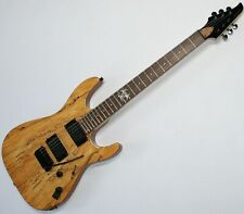 ACEPRO SME-31 Heavy E-Gitarre Tremolo Spalted Maple Top 2 Humbucker Splitbar G93