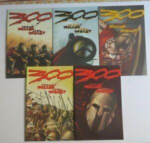 300 #1-5 Complete Set NM High Grade Dark Horse Comics Frank Miller 1998