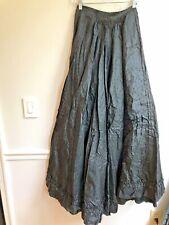 Antique Bustle Skirt Civil War Victorian Era Black as is parts archives display