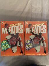 1989 Michael Jordan Wheaties Poster Part B & C, Chicago Bulls Basketball