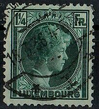 LUXEMBOURG 1926 Grand Duchess Charlotte Scott # 182 1¼ fr STAMP