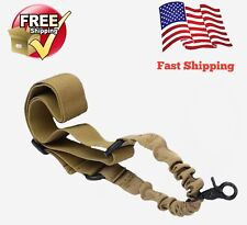 Tan Single Point Sling For Rifle Sling Tactical