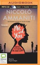 Me and You by Niccolò Ammaniti (2014, MP3 CD, Unabridged)