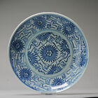Aster Pattern 19C Chinese porcelain kitchen ch'ing Qing Plate South East Asia