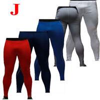 Mens Compression Base Layer Tank Tops Shirt Fitness Long Pants Short Sport Wear