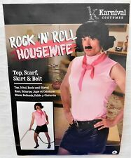 NEW Karnival Halloween Rock N Roll Housewife Costume Size Large  FREE SHIPPING