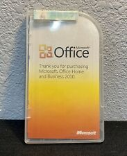 Microsoft Office 2010 Home and Business Licensed For 2 PCs Full Retail Box Win10