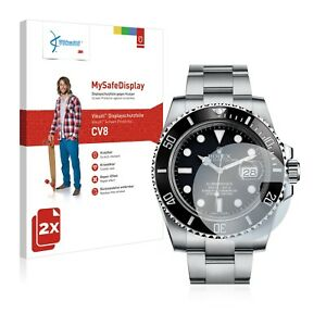 2x Vikuiti Screen Protector CV8 from 3M for Rolex Submariner (Date)
