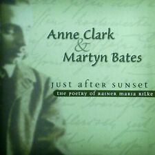 CD ANNE CLARK & MARTYN BATES - just after sunset, Rilke