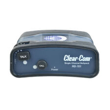 Clear Com Rs701 Analog Single Channel Wired Beltpack Xlr New