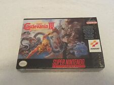 SNES Super Castlevania IV Video Game New Sealed Free Shipping