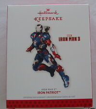 Hallmark 2013 Iron Man 3 Patriot Super Hero Superhero Rhodey Christmas Ornament