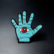 Evil Eye HAND Patch Sharingan Sewing Embroidered Applique Fabric Patch Iron on