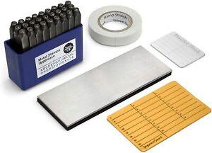 Crypto Wallet Cold Storage Seed Backup Passphrase Stamping Kit w/ Metal Plate