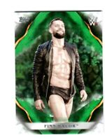 WWE Finn Balor #31 2019 Topps Undisputed Green Parallel Card SN 40 of 50
