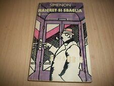 GEORGES SIMENON: MAIGRET SI SBAGLIA.MONDADORI 1979 OSCAR GIALLI N.461106 PINTER