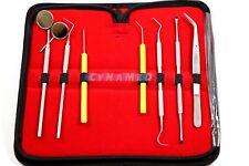 Professional Dental Oral Hygiene Kit 8 Tools Deep Cleaning Scaler Teeth Care Set