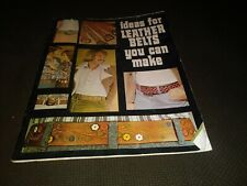 Vintage Ideas for Leather Belts You Can Make Tandy Leather Patterns Leatherwork