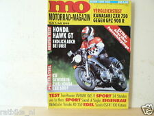 MOM9007-HONDA HAWK GT,YAMAHA RD350,SUZUKI GSX-R1100,POSTER RGB-WASP,KAWA ZXR750,