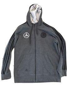 Adidas DFB Deutschland Nationalmannschaft Hoodie Shirt Jacke Mercedes Benz Gr. M