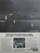 4/1976 PUB BELL HELICOPTER TEXTRON TWIN TURBINE UH-1N USAF AIR FORCE BASE AD