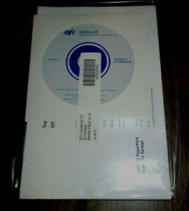 EFI Fiery Desktop SE EFIGSBp v.1.0 pn.45052565  Software + Doc.  NEW, Unopened