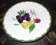 Blue Ridge Southern Pottery Fruit Fantasy Saucer-Multiple Available-Hand Painted