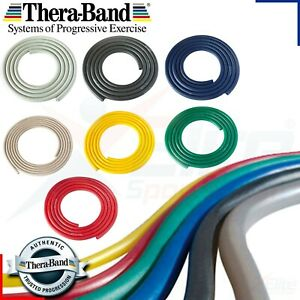 THERABAND/FORTRESS RESISTANCE TUBING, EXERCISE, FITNESS professional UK STOCk