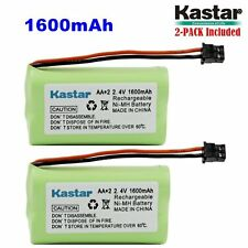 2 x 2.4V 1600mAh AA MSM Phone Battery for Uniden BT1007 BT-904 BBTY0700001