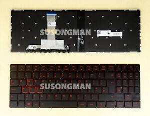 New UK Keyboard For Lenovo Legion Y540-15IRH Y540-15IRH-PG0 Laptop Red backlit