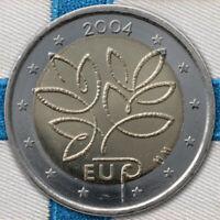 2 Euro Monedas Finlandia Ue Extensión 2004 Fuera de Circulación - sin Unc. - St