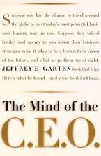 Jeffrey E. Garten~THE MIND OF THE C.E.O.~SIGNED 1ST/DJ~NICE COPY