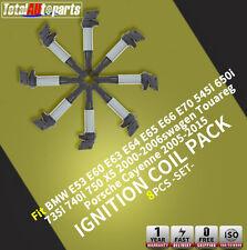 8x Ignition Coils Pack for BMW E53 E60 E65 E66 E70 545i 650i X5 735i 740i 745i