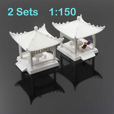 GY02150 2set DIY Pavilion Model Gloriette Chinese Construction Educational 1:150