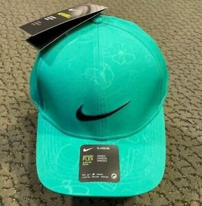 Nike Fitted Green Golf Hat Limited Edition The Masters AeroBill Classic99