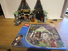 Lego Harry Potter SET 4754 HAGRID'S HUT 99% COMPLETE NO BOX