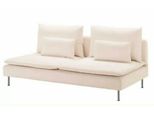 IKEA SODERHAMN  Seat sofa Cover Slipcover SAMSTA LIGHT PINK New! SEALED