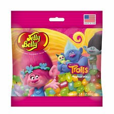 DREAMWORKS TROLLS - Jelly Belly Candy Jelly Beans - 2.8 oz BAG - 5 PACK
