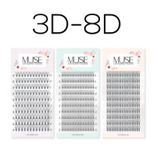 Pre made Russian Lashes Volume Hybrid Fans 3D 4D 5D MUSE Mink Eyelash Extensions