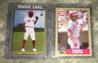 Cincinnati Reds ARISTIDES AQUINO BARRY LARKIN Topps Turkey Red RC LOT 1987-2020