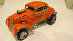 Precision Miniatures 1:18 Orange '33 Willys Gasser K.S. Pittman
