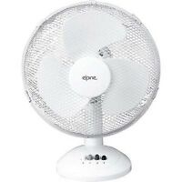 """12"""" Oscillating Rotating Home Office Adjustable Stand 3 Air Speed Desk Fan New"""