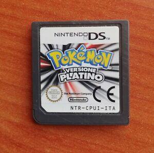 POKÉMON VERSIONE PLATINO ITA ITALIANO Platinum per Nintendo DS Lite 3DS 2DS