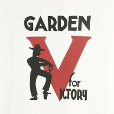 WWII V for Victory Garden US Homefront T Shirt Mens sz S - XL
