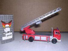 "Herpa #806506 Mercedes Extension Ladder Fire Truck ""Red & Gray"" H.O.Gauge"