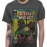 Star Wars - Boba Fett Comic Cover T Shirt Size:S - NEW & OFFICIAL MERCHANDISE