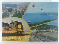 Vintage Postcard Llandudno Multiview Pavilion Sandy Powell Grand Hotel 1970s