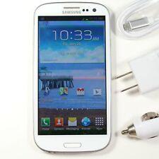 Samsung Galaxy S3 (Tracfone) White Smartphone 16GB 8MP Camera Android SCH-S968C